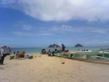 白い砂のラニカニカイビーチ  !0001