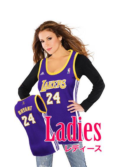 NBA ユニフォーム 女性