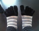足指が喜んでいるのです!!!