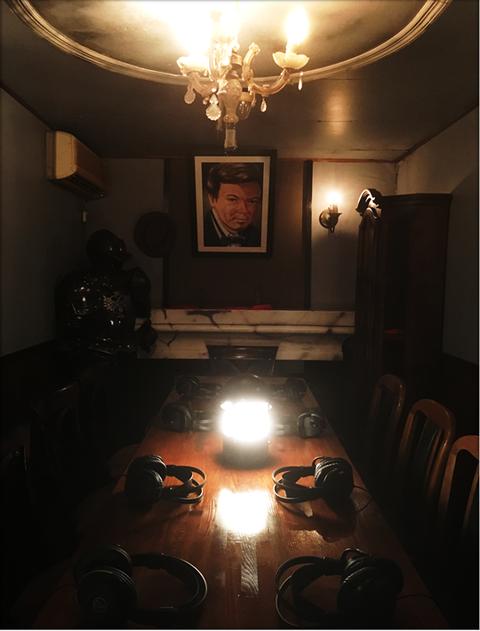 ゴーストの館
