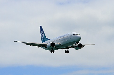 ニュージーランド航空写真