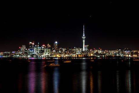 オークランド夜景