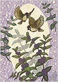 雀と紫式部