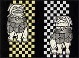 川六の狛犬 No.1