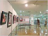 「麒麟獅子」展、鳥取市立中央図書館での展示