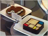 SFMOMAのカフェのモンドリアン・ケーキ