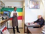 エチオピア学習会と新年会
