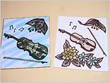 9月の教室:秋のバイオリン