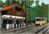 森の中の幻影—ヴィシュネヴァ(桜)駅