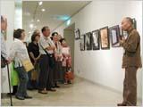 第25回日本剪画美術展開幕