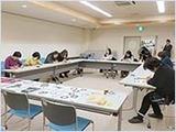鳥取市立中央図書館でのワークショップ