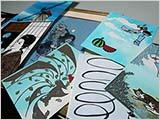 「風」展の作品が集まってくる
