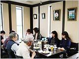 洋風料理ナカムラさんでの昼食会