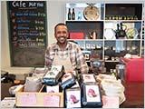 エチオピアンコーヒーハウスに寄る