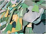 緑の破片たち