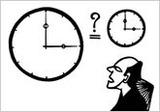 停車場の時計