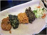 エチオピア料理で女子会