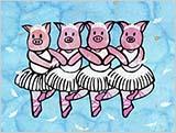 4羽の子豚
