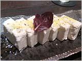 クリームチーズのような塩豆腐