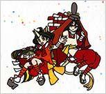 擬人化麒麟獅子 〜二人で一つの精霊〜