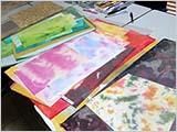 和紙の色を探す