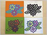 今日の教室:花々の色