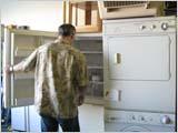 冷蔵庫と洗濯機を買いに行く