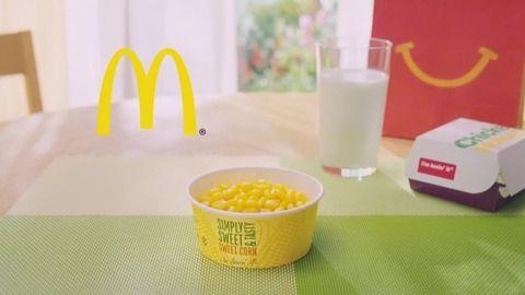 マクドナルド「野菜もしっかり食べようッ!」