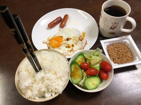 ぼくの朝ごはんどう