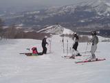 春スキーとはいえ