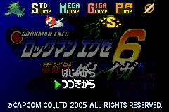 Rockman EXE 6 - Dennoujuu Grega (Japan)