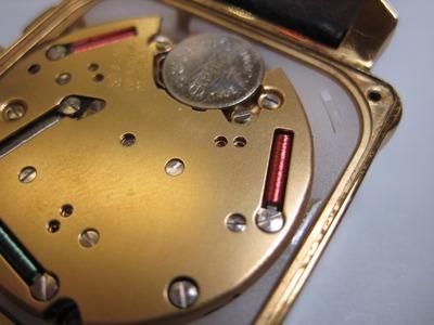 ハミルトン・ロイド電池交換