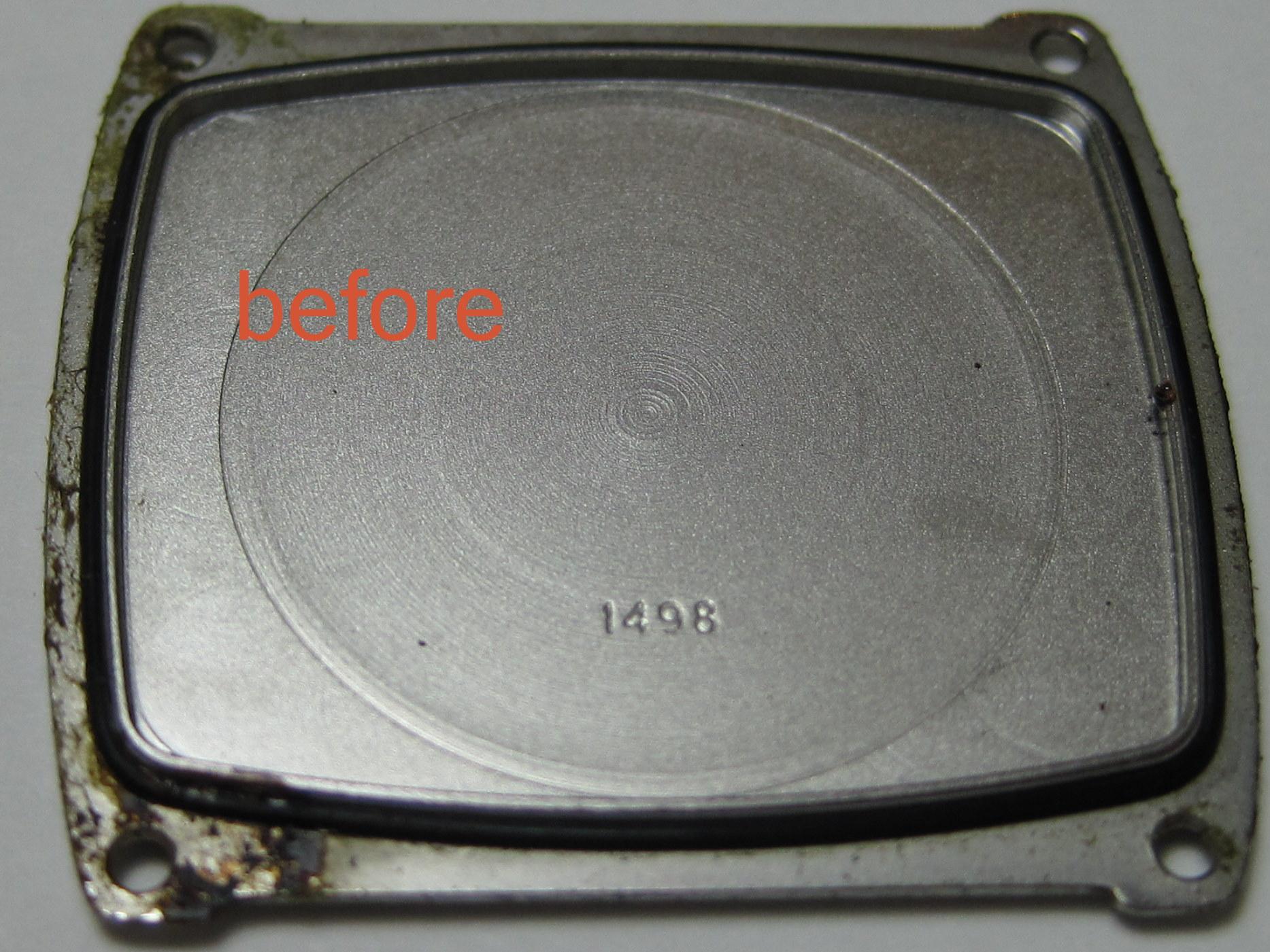 e816701b43 時計クリーニング.COM / ビフォー&アフター : グッチ GUCCI 電池交換 ...
