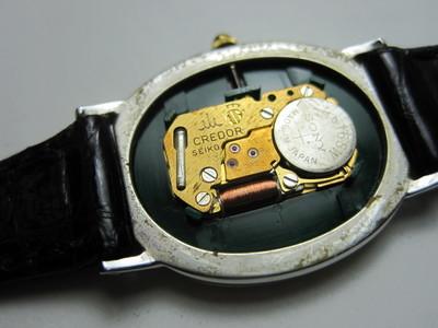 クレドール電池指紋