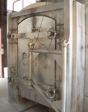 平清水ガス窯