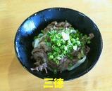 肉ぶっかけ(冷)小525円