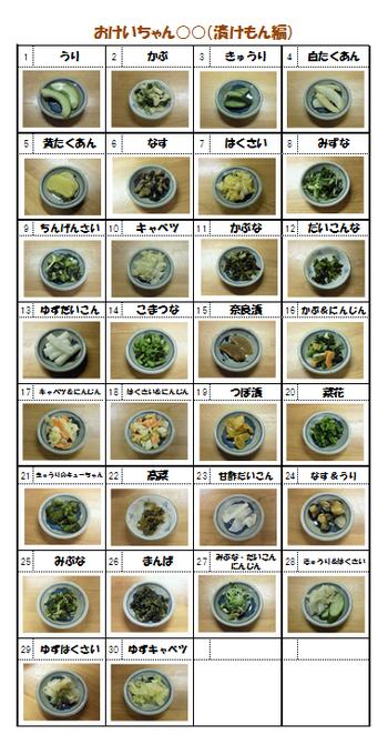 おけいちゃん○○(漬けもん編)30/30
