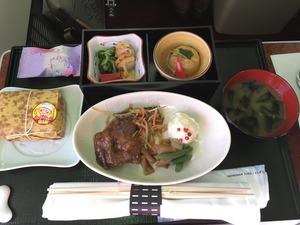 JAL ファースト食事