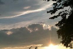 夏至日の出