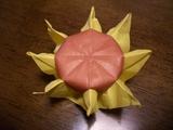 ひまわり折り紙