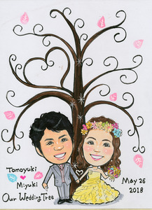 weddingツリー