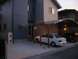福山H様邸 カーポート夜1