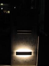 福山T様邸門柱ライトアップ2