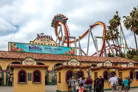 Nông trại Disneyland và Knott's Berry ở Quận Cam