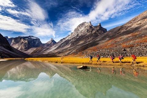 Cổng công viên quốc gia Bắc Cực
