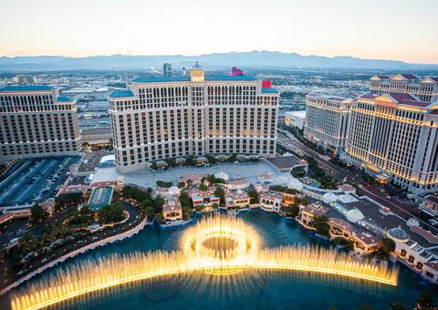 Đài phun Bellagio, Las Vegas, Nevada