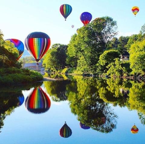 Lễ hội âm nhạc và khinh khí cầu Quechee - Quechee, Vermont