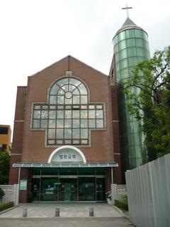 ソウル大病院内の病院教会
