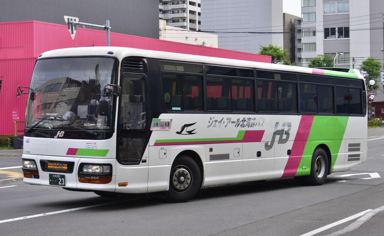 北海道 バス jr
