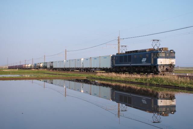 EF64-1049+貨物20200429滑川-下総神崎10